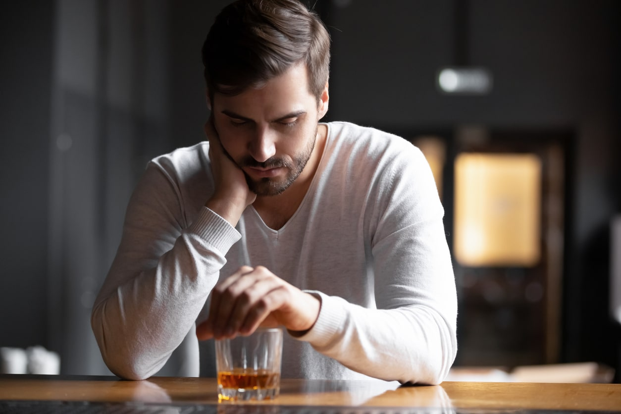 Alcohol cravings and addiction or alcoholism