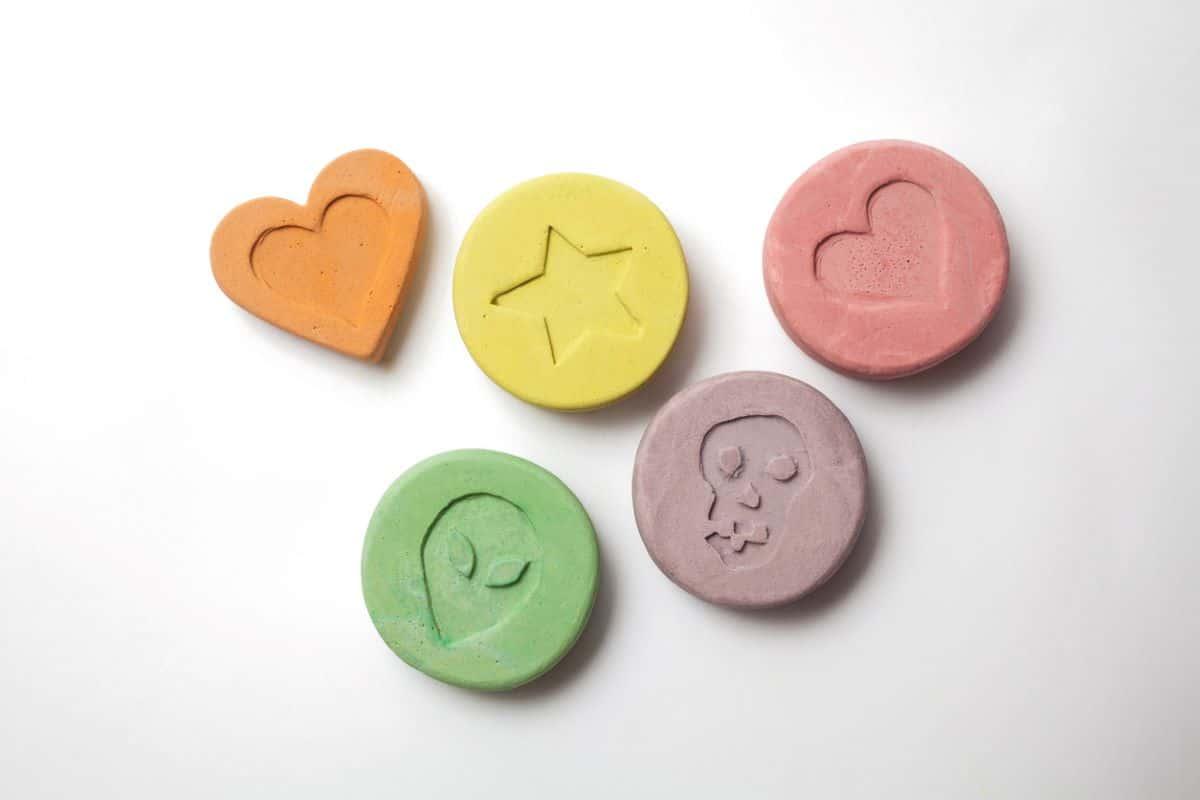 Ecstasy tablets
