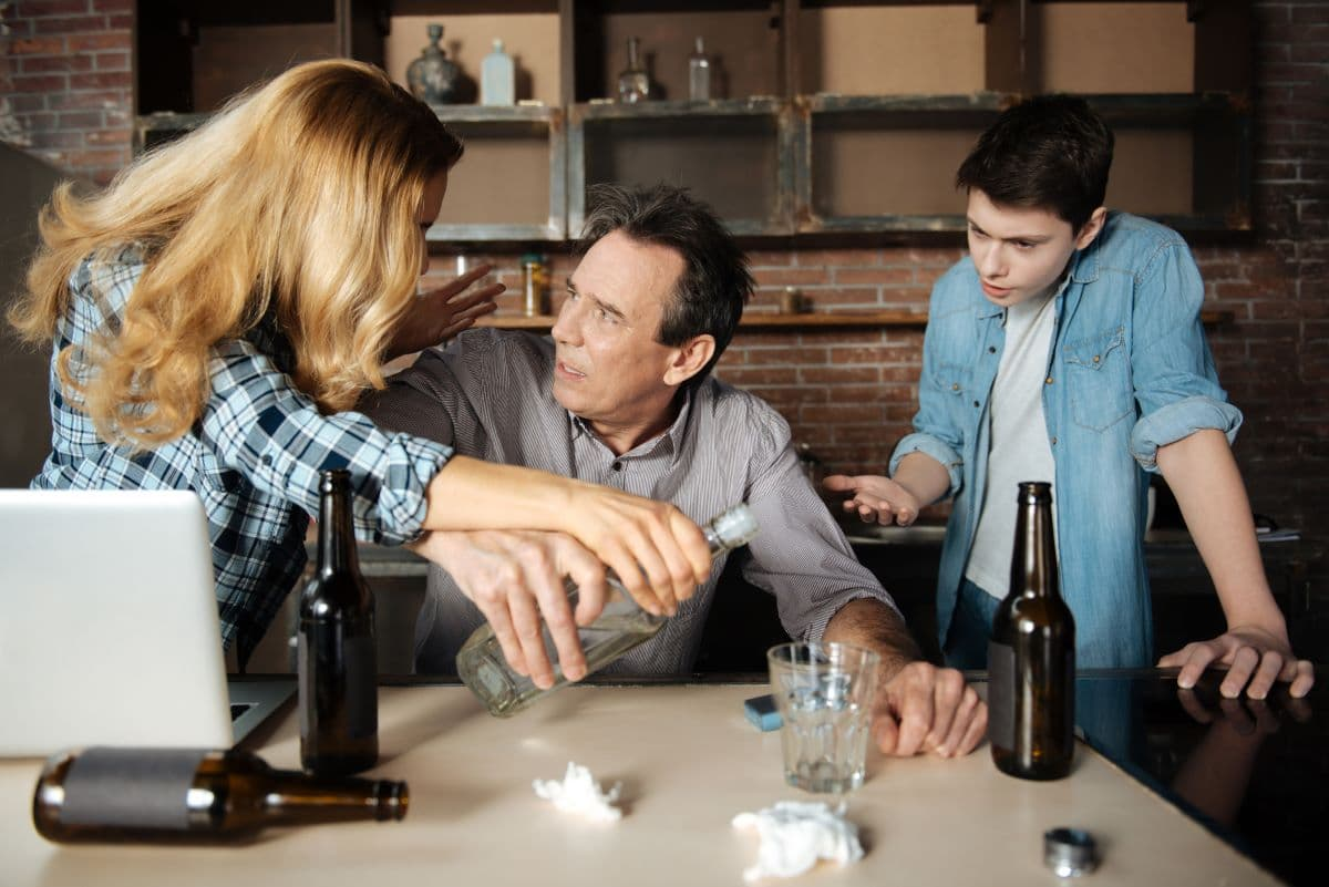 The family and alcohol addiction